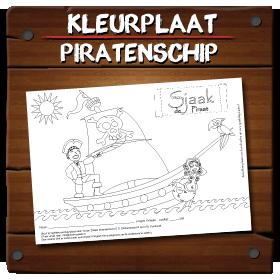 Kleurplaten Piratenschip.Sjaak S Pretpagina Sjaak De Piraat Kindershows En Attracties
